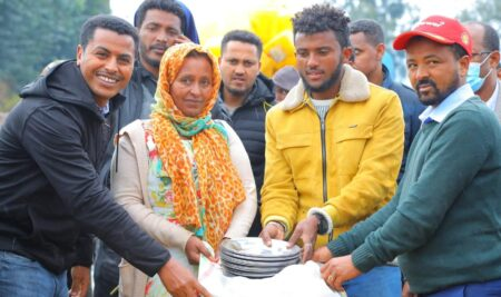 """UoG gives Humanitarian Support for the our """"Fight for Survival"""" campaign"""